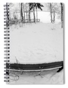 Winter Seat 1 Spiral Notebook