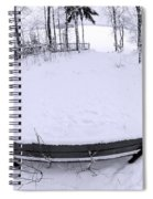 Winter Seat 2 Spiral Notebook