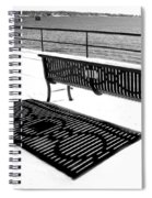 Winter Shadows Spiral Notebook