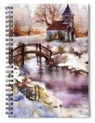 Winter Shelter Spiral Notebook