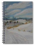Winter Skate Spiral Notebook