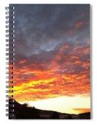 Winter Sky Spiral Notebook