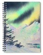 Winter Skylights Spiral Notebook