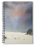 Winter Snow Swaledale Spiral Notebook