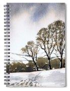 Winter Sowood Spiral Notebook