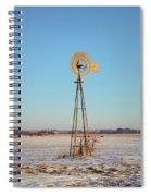Winter Spins Spiral Notebook
