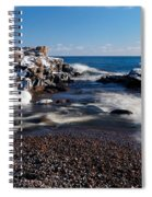 Winter Splash Spiral Notebook