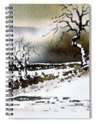 Winter Stainland Spiral Notebook