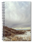 Winter Storm Clouds 2018-2289 Spiral Notebook