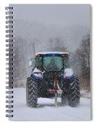 Winter Storm Jonas Spiral Notebook