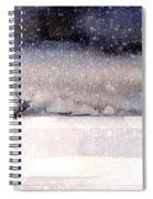 Winter Storm Spiral Notebook