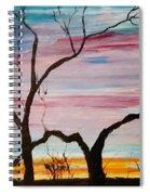 Winter Sunrise                    74 Spiral Notebook