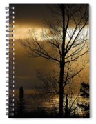 Winter Sunrise 1 Spiral Notebook
