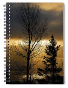 Winter Sunrise 2 Spiral Notebook