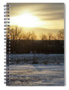 Winter Sunrise Spiral Notebook