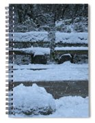 Winter Time Spiral Notebook