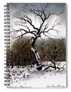 Winter Tree Stainland Spiral Notebook