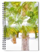 Winter Trees 1 Spiral Notebook