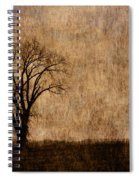 Winter Trees In The Bottomland 1 Spiral Notebook