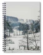 Winter Trees Solitude Landscape Spiral Notebook