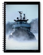 Winter Tug Spiral Notebook