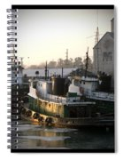 Winter Tugs Spiral Notebook