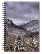 Winter Valley Spiral Notebook