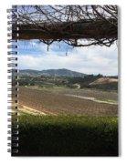 Winter Vines Spiral Notebook