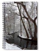 Winter Walk In The Woods Spiral Notebook