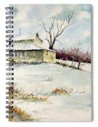 Winter Washday Spiral Notebook