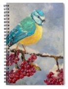 Winter Watch Spiral Notebook