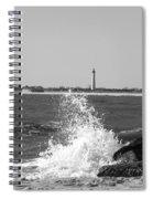 Winter Wave Spiral Notebook