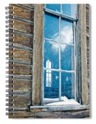 Winter Windows Spiral Notebook