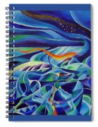 Winter  Spiral Notebook