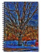 Winter Wonderland Hdr  Spiral Notebook