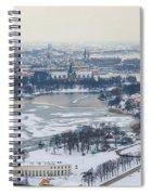 Winter Wonderland In Stockholm Spiral Notebook