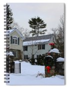 Home For Christmas Spiral Notebook