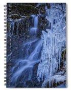 Winterfalls Spiral Notebook