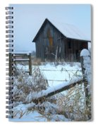 Winters Arrival Spiral Notebook