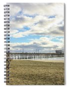 Winters Beach Spiral Notebook