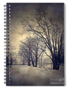 Winter's Dark Thoughts Spiral Notebook