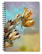 Winters Day Desert Yucca Spiral Notebook
