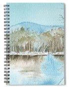 Winter's Daylight Chill  Spiral Notebook