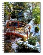 Winter's Goodbye Spiral Notebook