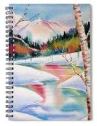 Winter's Light Spiral Notebook