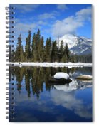 Winters Mirror Spiral Notebook