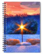 Winter's Morn Spiral Notebook