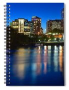 Hartford Lights Spiral Notebook