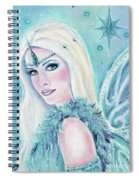 Winters Song Fairy Spiral Notebook