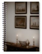 Winterthur By Candlelight Spiral Notebook